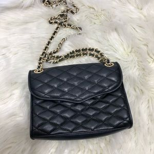 Rebecca Minkoff • Leather Quilted Crossbody